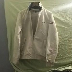 Mens XS Hilfiger golf jacket with hood